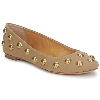 Παπούτσια Γυναίκα Μπαλαρίνες Keyté CANDY TESSU Beige