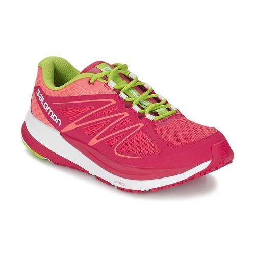 Παπούτσια Γυναίκα Τρέξιμο Salomon SENSE PULSE WOMAN ροζ / Orange / Green