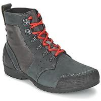 Παπούτσια Άνδρας Μπότες Sorel ANKENY MID HIKER RIPSTOP Black / Grey