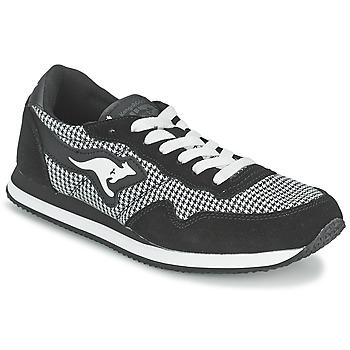 Παπούτσια Γυναίκα Χαμηλά Sneakers Kangaroos INVADER TWEED Grey / Black