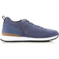 Παπούτσια Άνδρας Χαμηλά Sneakers Hogan HXM2610K200IHHU803 blu