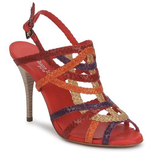 Παπούτσια Γυναίκα Σανδάλια / Πέδιλα Stéphane Kelian OPERA Bronze-multicolore