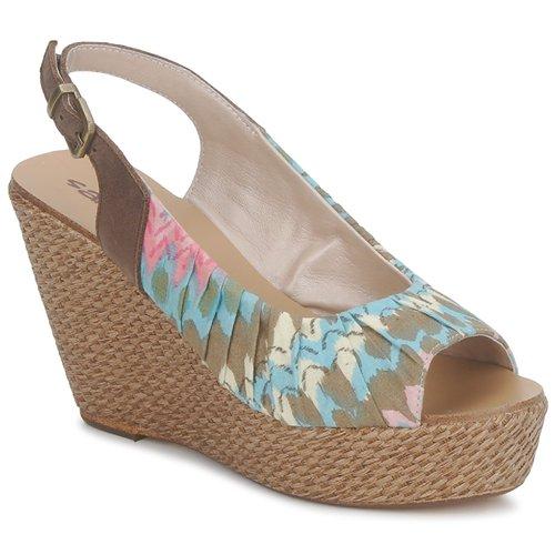 Παπούτσια Γυναίκα Σανδάλια / Πέδιλα Sans Interdit RICO Multicolour