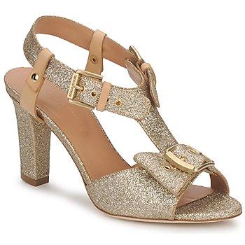 Παπούτσια Γυναίκα Σανδάλια / Πέδιλα Sonia Rykiel DEFIL GAT GLITTER / ΧΡΥΣΟ