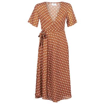 Υφασμάτινα Γυναίκα Μακριά Φορέματα Betty London KEYLA Brown