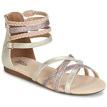 Παπούτσια Κορίτσι Σανδάλια / Πέδιλα Bullboxer AED009 Gold / Ροζ