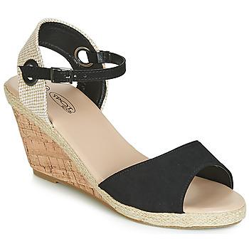 Παπούτσια Γυναίκα Σανδάλια / Πέδιλα Spot on F2265 Black