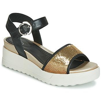 Παπούτσια Γυναίκα Σανδάλια / Πέδιλα Stonefly PARKY 3 NAPPA/PAILETTES Black