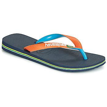 Παπούτσια Σαγιονάρες Havaianas BRASIL MIX Marine / Orange