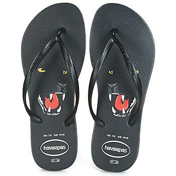 Παπούτσια Γυναίκα Σαγιονάρες Havaianas SLIM ANIMAL PRINT Black