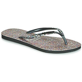 Παπούτσια Γυναίκα Σαγιονάρες Havaianas SLIM CARNAVAL Black
