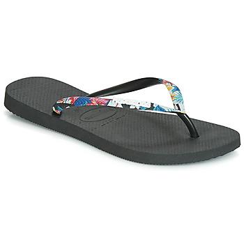 Παπούτσια Γυναίκα Σαγιονάρες Havaianas SLIM STRAPPED Black