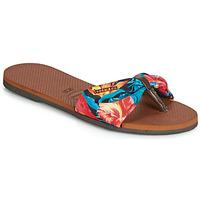 Παπούτσια Γυναίκα Σαγιονάρες Havaianas YOU ST TROPEZ Fleuri