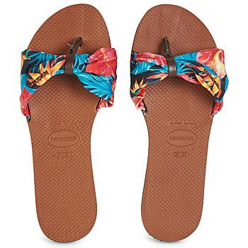 Παπούτσια Γυναίκα Σαγιονάρες Havaianas YOU SAINT TROPEZ Fleuri