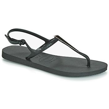 Παπούτσια Γυναίκα Σανδάλια / Πέδιλα Havaianas FREEDOM MAXI Black