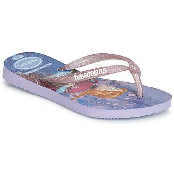 Παπούτσια Κορίτσι Σαγιονάρες Havaianas KIDS SLIM FROZEN Violet