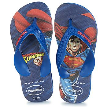 Παπούτσια Αγόρι Σαγιονάρες Havaianas KIDS MAX HEROIS Μπλέ