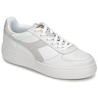 Παπούτσια Γυναίκα Χαμηλά Sneakers Diadora B ELITE WIDE Άσπρο / Taupe