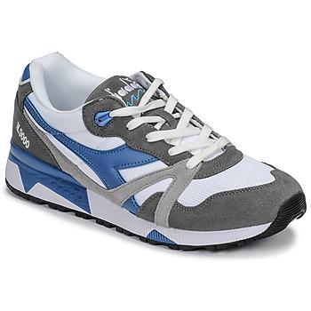 Παπούτσια Άνδρας Χαμηλά Sneakers Diadora N 9000 III Άσπρο / Grey / Turquoise