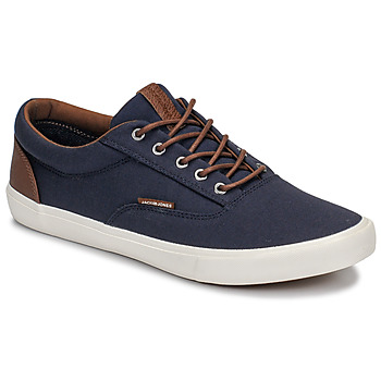Παπούτσια Άνδρας Χαμηλά Sneakers Jack & Jones VISION CLASSIC MIXED Marine