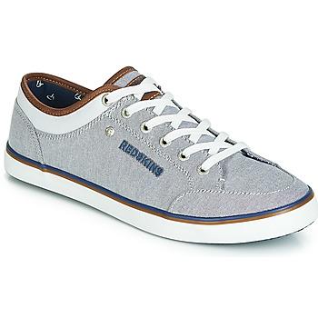 Παπούτσια Άνδρας Χαμηλά Sneakers Redskins GALETI Grey / Άσπρο