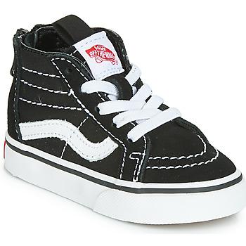 Ψηλά Sneakers Vans SK8-HI ZIP ΣΤΕΛΕΧΟΣ: Δέρμα / ύφασμα & ΕΠΕΝΔΥΣΗ: Ύφασμα & ΕΣ. ΣΟΛΑ: Ύφασμα & ΕΞ. ΣΟΛΑ: Καουτσούκ