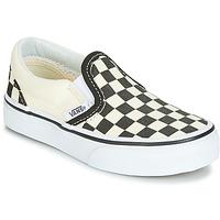 Παπούτσια Παιδί Slip on Vans CLASSIC SLIP-ON Black / Άσπρο