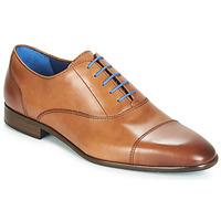 Παπούτσια Άνδρας Richelieu Azzaro RAELAN Cognac