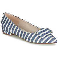Παπούτσια Γυναίκα Μπαλαρίνες Fericelli JILONOU Μπλέ / Άσπρο