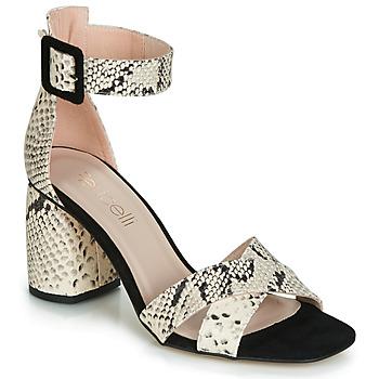 Παπούτσια Γυναίκα Σανδάλια / Πέδιλα Fericelli JEZI Άσπρο / Black