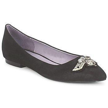 Παπούτσια Γυναίκα Μπαλαρίνες Couleur Pourpre TIMEA Black