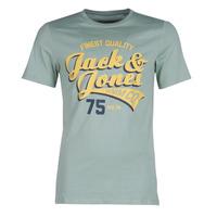 Υφασμάτινα Άνδρας T-shirt με κοντά μανίκια Jack & Jones JJELOGO Green