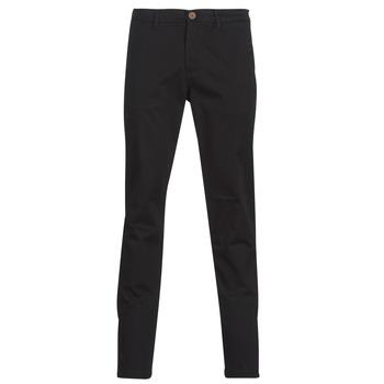 Υφασμάτινα Άνδρας Παντελόνια Chino/Carrot Jack & Jones JJIMARCO Black