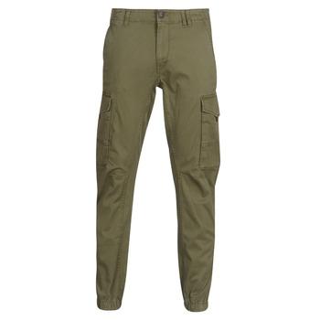 Υφασμάτινα Άνδρας παντελόνι παραλλαγής Jack & Jones JJIPAUL Kaki
