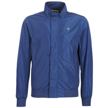 Υφασμάτινα Άνδρας Μπουφάν Scotch & Soda AMS BLAUW SIMPLE HARRINGTON JACKET Marine
