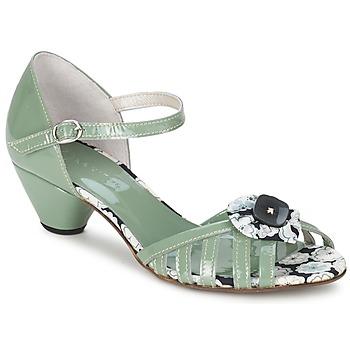 Παπούτσια Γυναίκα Σανδάλια / Πέδιλα Mosquitos AMICALE Green / Water