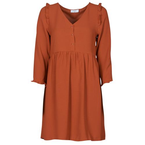 Υφασμάτινα Γυναίκα Κοντά Φορέματα Betty London JOELIE Brown