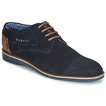 Derbies Bugatti TOUZETTE ΣΤΕΛΕΧΟΣ: καστόρι & ΕΠΕΝΔΥΣΗ: Ύφασμα & ΕΣ. ΣΟΛΑ: Δέρμα / ύφασμα & ΕΞ. ΣΟΛΑ: Συνθετικό