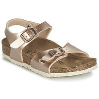 Παπούτσια Κορίτσι Σανδάλια / Πέδιλα Birkenstock RIO Χρυσο