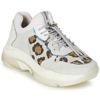 Παπούτσια Γυναίκα Χαμηλά Sneakers Bronx BAISLEY Άσπρο / Leopard