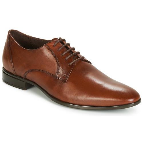 Παπούτσια Άνδρας Derby Carlington EMRONED Cognac