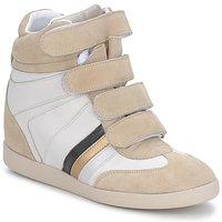 Παπούτσια Γυναίκα Χαμηλά Sneakers Serafini MANATHAN SCRATCH Ασπρο-μπεζ-μπλε