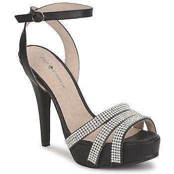 Παπούτσια Γυναίκα Σανδάλια / Πέδιλα Friis & Company CORTNAY Black