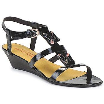 Παπούτσια Γυναίκα Σανδάλια / Πέδιλα Stephane Gontard MALIBU Black