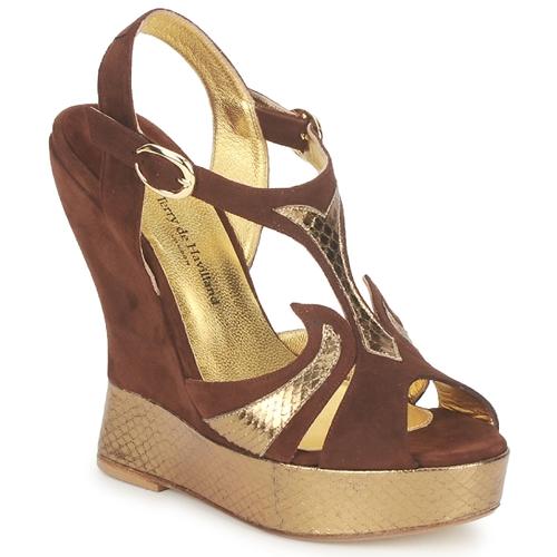 Παπούτσια Γυναίκα Σανδάλια / Πέδιλα Terry de Havilland FARAH Σοκολά