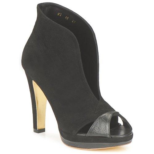 Παπούτσια Γυναίκα Χαμηλές Μπότες Gaspard Yurkievich A9-VAR7 Black