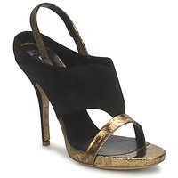 Παπούτσια Γυναίκα Σανδάλια / Πέδιλα Gaspard Yurkievich T4 VAR7 Black / Dore