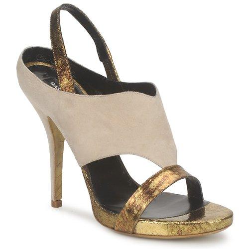 Παπούτσια Γυναίκα Σανδάλια / Πέδιλα Gaspard Yurkievich T4 VAR8 Beige / Dore