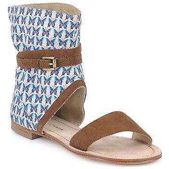 Παπούτσια Γυναίκα Σανδάλια / Πέδιλα Paul & Joe Sister ARMINE Brown