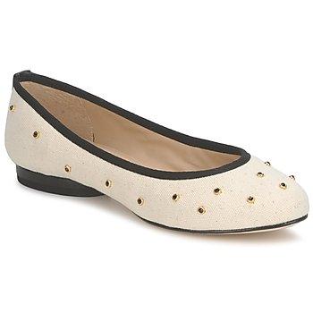 Παπούτσια Γυναίκα Μπαλαρίνες Kat Maconie DELILAH άσπρο / Cassé / Black